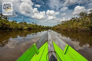 Deras River West Kalimantan, Borneo