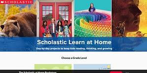 Scholastic website screenshot