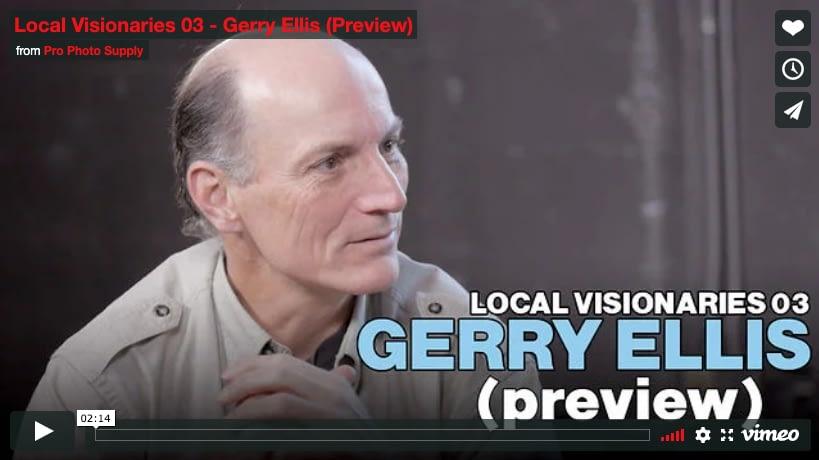 Meet Local Visionary, Gerry Ellis