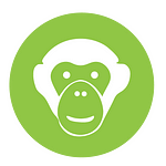 Chimp face icon