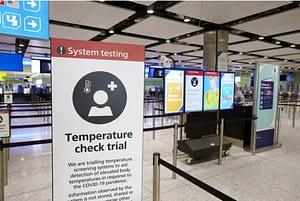 Covid airport screening
